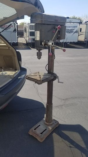 Industrial drill press 16 speed belt drive heavy duty for Sale in Tracy, CA