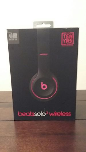 Brand New Black & Red Dr.Dre Beats Studio Solo 3 Wireless. Original Price is $299.00. for Sale in Springfield, MA