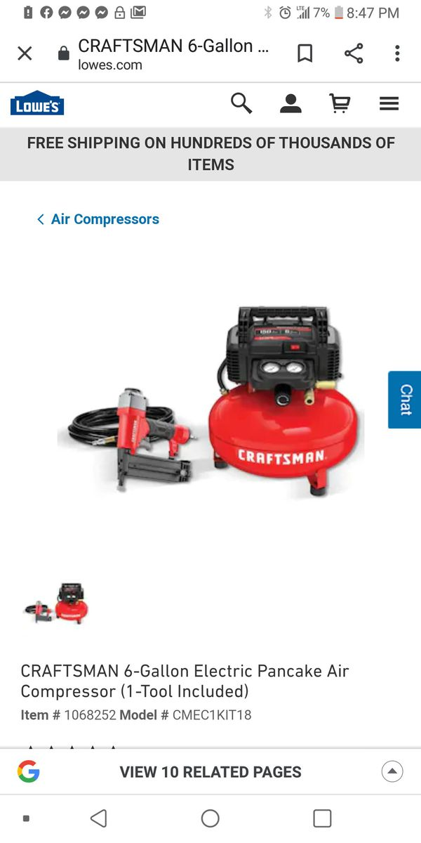 I have brand new air compressor the same one in pic