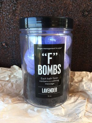 "Brand new ""F"" bombs bath bombs. $20 at Target & Kohl's. for Sale in Vista, CA"