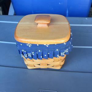 Longaberger basket 20.00 for Sale in Lancaster, CA