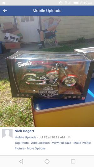 Limited edition Barbie Harley Davidson for Sale in Wichita, KS