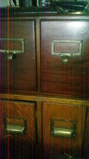 Vintage Library File Cabinets for Sale in ROXBURY CROSSING, MA