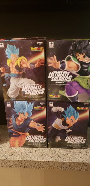 Dragonball Z Statues for Sale in Mesquite, TX