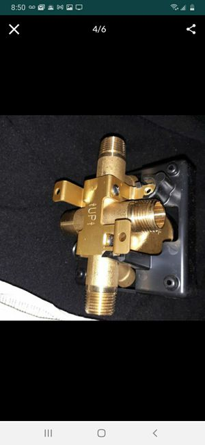 F MultiChoice Universal Shower Valve Body for Shower Faucet Trim Kits for Sale in Palmdale, CA