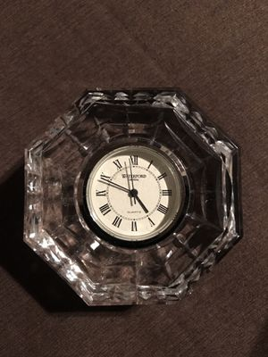 Waterford Crystal Clock Paperweight for Sale in Martinez, CA