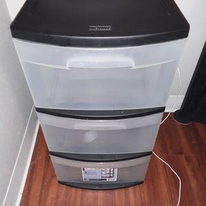 3 Drawer Plastic Compartment for Sale in Tacoma, WA