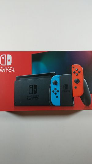 Nintendo switch v2 with red blue joy cons 32gb for Sale in Sandy, UT
