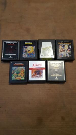 ATARI 2600 GAMES LOT for Sale in Brandenburg, KY