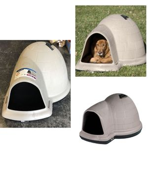 Petmate Indigo Dog House with Microban, Large, 50-90 lbs REDUCED PRICE for Sale in Stafford, TX