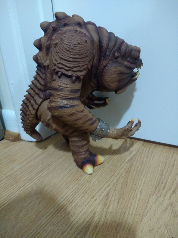"""Star Wars Power of the Force"" Rancor action figure"