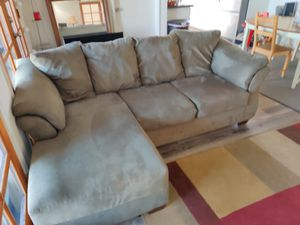 Sectional Couch Ashley Sofa Green for Sale in Oakland, CA