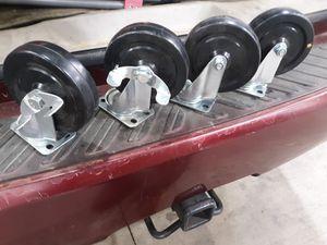 New heavy duty casters for Sale in Whittier, CA