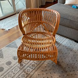 Vintage Rattan Chair for Sale in Long Beach,  CA