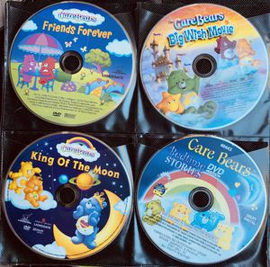 8 CAREBEAR DVD MOVIES! selling as a group ~ READ BELOW FOR EVEN MORE SAVINGS!! for Sale in Virginia Beach, VA