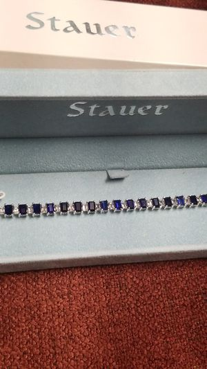 STAUER STERLING SILVER STUNNING BRACELET for Sale in Springfield, VA