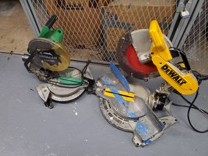 Saws dewalt 12 y makita número 10 for Sale in Falls Church, VA