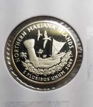"2009 ""Mariana islands"" Deep cameo"" Proof Quarter for Sale in Las Vegas, NV"