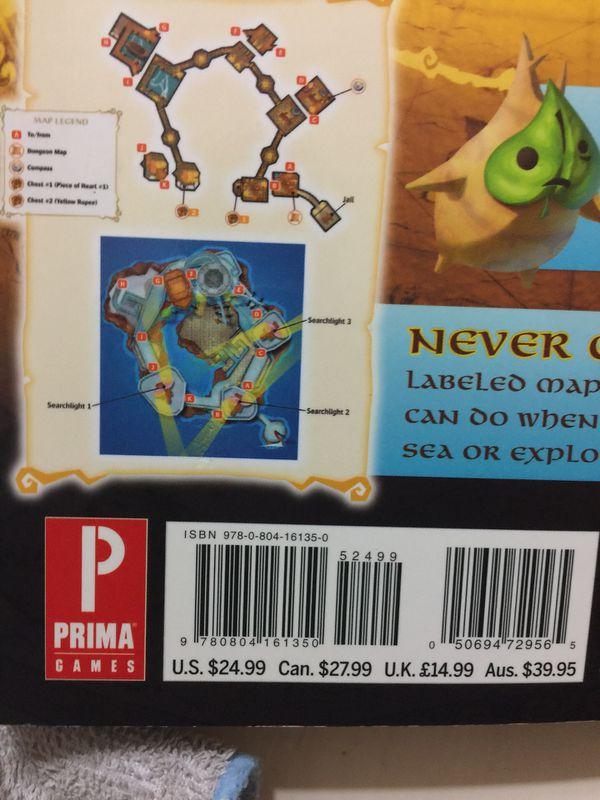 $13 New Legend of Zelda The WindWaker game guide