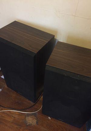2 twin speakers for Sale in Detroit, MI