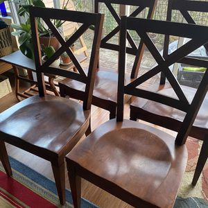 Four Dining Room Chairs for Sale in Seattle, WA