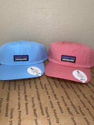 Patagonia P-6 Label Trad Cap Dad Hat Pink Blue for Sale in Westlake Village, CA