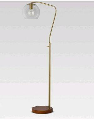Madrot Glass Globe Floor Lamp Brass for Sale in Pico Rivera, CA