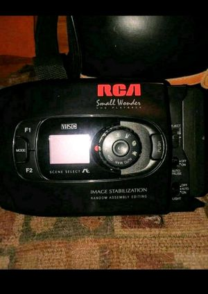 RCA VHS-C Camcorder Small Wonder VHS-C Playback for Sale in Spring Lake, MI