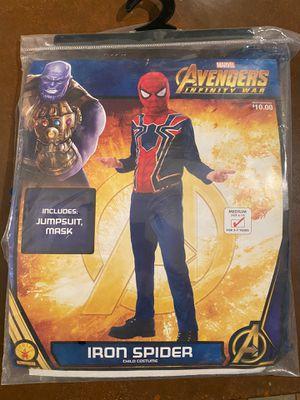 Boys Iron Spider Spider-Man Costume size 8-10 for Sale in Phoenix, AZ