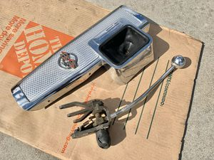 1963 Impala SS 4-Speed shifter and center console bezel for Sale in San Diego, CA