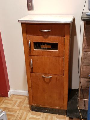 Antique Barber Tattoo Salon Sterilizer Cabinet Mid Century for Sale in Hamden, CT