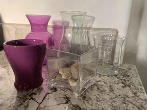 Flower vases! for Sale in Fresno, CA