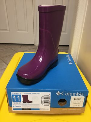 Columbia rain boots girls for Sale in Long Beach, CA