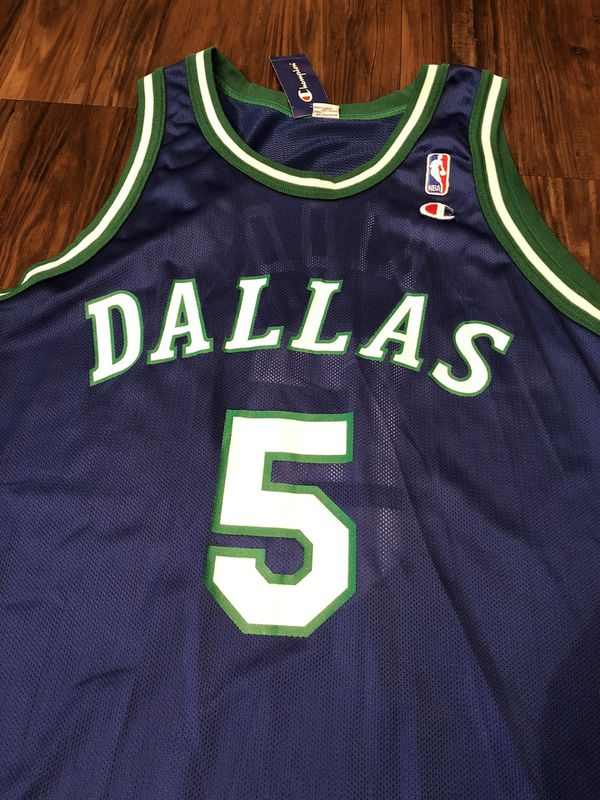buy popular e265d 57606 Vintage 90s Jason Kidd Dallas Mavericks Jersey Retro Throwback Sz 44 Mens  for Sale in San Antonio, TX - OfferUp