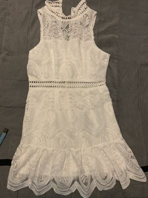White party dress for Sale in Winter Park, FL