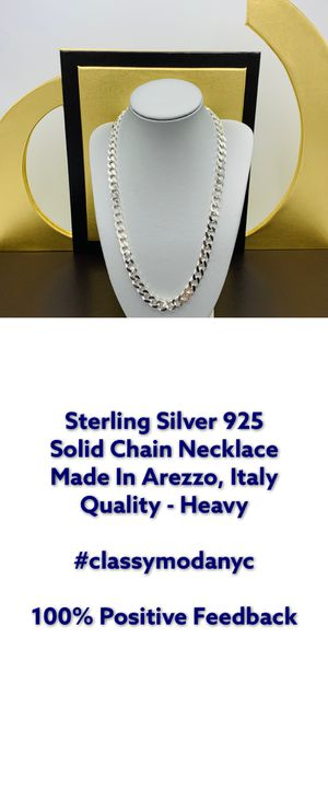 Sterling Silver 925 Solid Chain 71 Grams for Sale in New York, NY