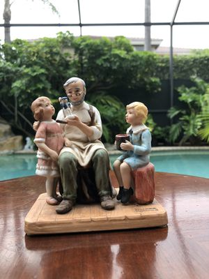 Norman Rockwell collection the toy maker for Sale in Pembroke Pines, FL