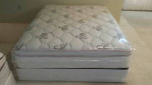 New full size pillow top mattress and box spring available. Delivery is available for Sale in Auburn, CA