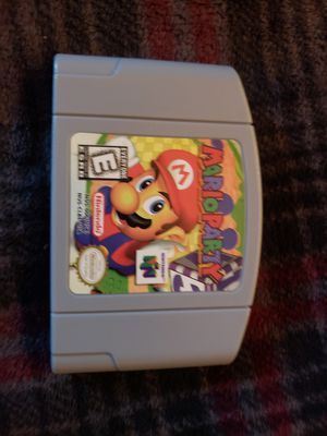 Mario Party Nintendo 64 repro video game for Sale in Baldwin Park, CA