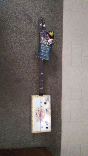 Chikiboom diddly bow (1 string) bass electric cigarbox guitar for Sale in Portland, OR