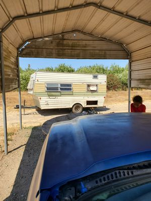 Trailer for sale as is needs work on the inside for $300 today in Modesto Ca for Sale in Modesto, CA