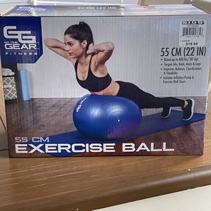 EXERCISE BALL 55 CM for Sale in Clovis, CA