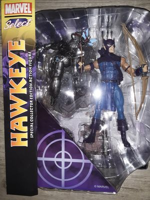 Marvel Select Hawkeye Action Figure Brand New in Box for Sale in Saint Charles, MO