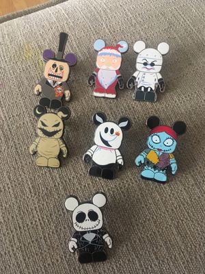 Nightmare before Christmas pins for Sale in Los Angeles, CA