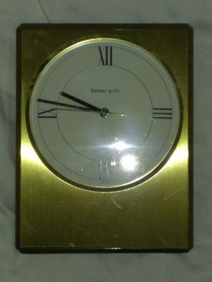 TIFFANY & CO BRASS DESK CLOCK for Sale in Washington, DC
