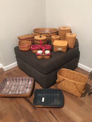Longaberger Basket Group for Sale in Gig Harbor, WA