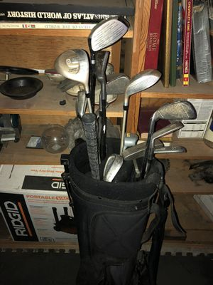 Golf clubs and bag for Sale in Wildomar, CA