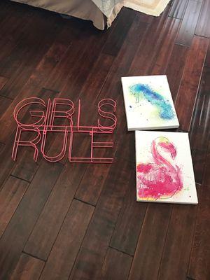 Girls room Decor for Sale in Costa Mesa, CA