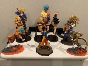 Dragon ball z figures for Sale in San Bernardino, CA