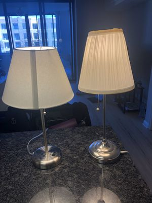 Two lamps for Sale in Arlington, VA